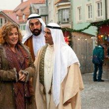 Muriel Baumeister con  Samir Fuchs e Ercan Karacayli nella commedia tedesca Was machen Frauen morgens um halb vier?