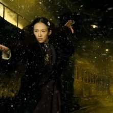 The Grandmasters: Zhang Ziyi in una scena del film