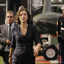 Una preoccupata Maggie Gyllenhaal in White House Down