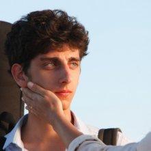 Venuto al mondo: Pietro Castellitto in una scena del film