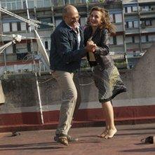Benur: Paolo Triestino ed Elisabetta De Vito in una scena del film