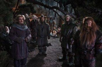 Una scena tratta da Lo Hobbit - Un viaggio inaspettato