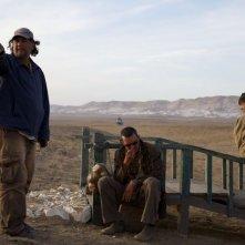 Aspettando il mare: il regista del film Bakhtyar Khudojnazarov sul set del film