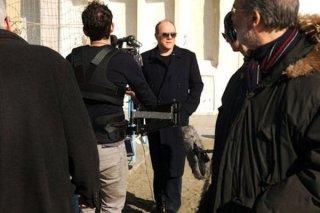 Carlo!: Carlo Verdone sul set del documentario a lui dedicato