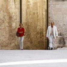 E la chiamano estate: Jean- Marc Barr e Isabella Ferrari in una scena del film