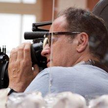 Il volto di un'altra: il regista Pappi Corsicato sul set