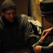 Ixjana: Borys Szyc e Mariusz Drężek in una scena del film