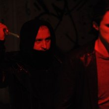 Ixjana: Borys Szyc insieme a Sambor Czarnota in una scena del film