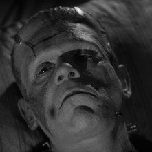 La moglie di Frankenstein: Boris Karloff in una sequenza del film