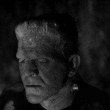 La moglie di Frankenstein: Boris Karloff nei panni del mostro