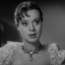 La moglie di Frankenstein: Elsa Lanchester nei panni di Mary Shelley nel prologo del film