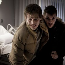 The Motel Life: Stephen Dorff insieme a Emile Hirsch in un'immagine del film