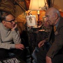 Giuliano Montaldo - Quattro volte vent'anni: il regista Giuliano Montaldo insieme a Ennio Morricone in una scena