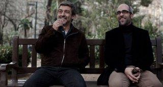 Una pistola en cada mano: Ricardo Darín insieme a Luis Tosar in una scena