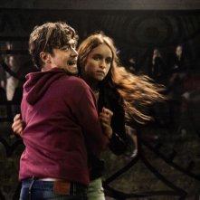 Cosimo e Nicole: Riccardo Scamarcio e Clara Ponsot in una movimentata scena del film