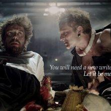 Goltzius and the Pelican Company: Ramsey Nasr nei panni del poeta Hendrik Goltzius in una scena del film