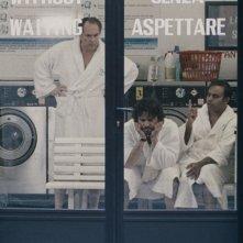 Italian Movies: Aleksei Guskov, Neil D'Souza e Michele Venitucci in una scena del film
