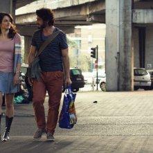 Italian Movies: Anita Kravos e Michele Venitucci in una scena del film
