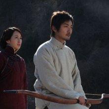 Judge Archer: Li Chengyuan e Song Yang in una scena del film