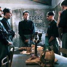 L'isola dell'angelo caduto: Gaetano Bruno in una scena del film diretto dal giallista Carlo Lucarelli
