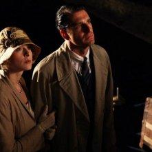 L'isola dell'angelo caduto: Giampaolo Morelli in una scena del film insieme a Sara Sartini
