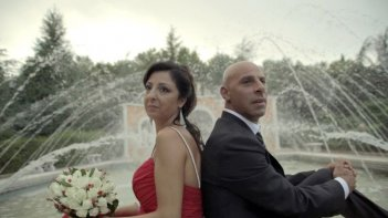 Pinuccio Lovero Yes I can: Pinuccio Lovero con la fidanzata Anna Pappapicco in una scena del documentario