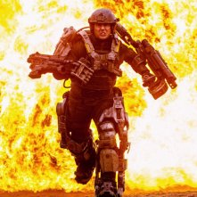 Tom Cruise nella prima, infuocata, immagine di All You Need is Kill