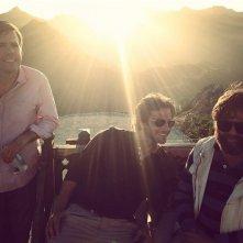 Una notte da leoni 3: Ed Helms, Bradley Cooper e Zach Galifianakis al tramonto