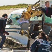 Aidan Quinn in una scena dell'episodio Flight Risk della prima stagione di Elementary