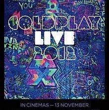 Coldplay Live 2012: la locandina del film
