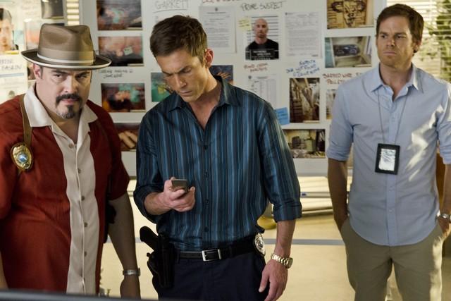 Dexter David Zayas Desmond Harrington E Michael C Hall Nell Episodio Run 257429