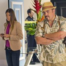 Dexter: David Zayas e Jennifer Carpenter nell'episodio Argentina