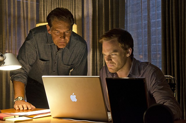 Dexter Michael C Hall E James Remar Nell Episodio Do The Wrong Thing 257409