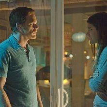 Dexter: Michael C. Hall e Jennifer Carpenter in una scena dell'episodio Argentina