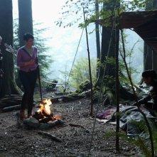 Ginnifer Goodwin con Jennifer Morrison in una scena dell'episodio Into the Deep della serie C'era una volta