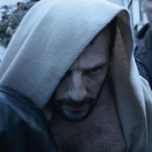 Il cecchino: Mathieu Kassovitz durante il suo arresto in una scena del film