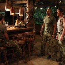 Isaac Gilmore e Michael Trisler in una scena dell'episodio Traditori della prima stagione di Last Resort