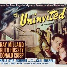 Lobby card promozionale del film La casa sulla scogliera (1944)