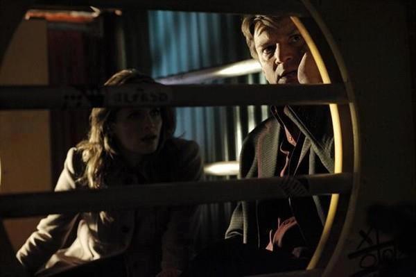 Nathan Fillion Con Stana Katic In Una Scena Dell Episodio After Hours Della Serie Castle Detective T 257433
