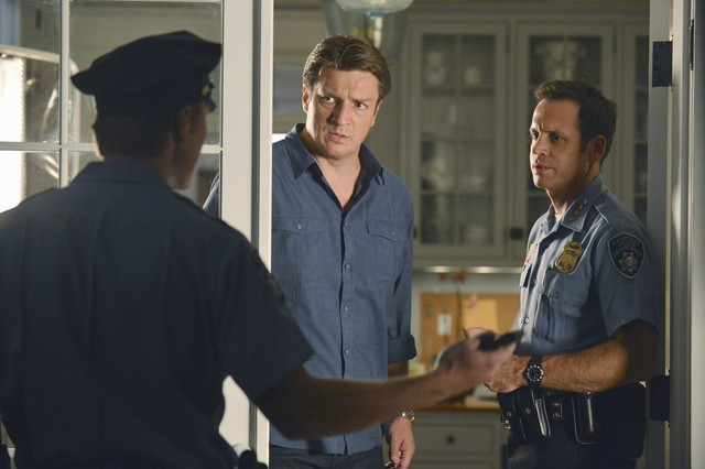 Nathan Fillion E David Burke In Una Foto Promozionale Dell Episodio Murder He Wrote Della Serie Tv C 257388