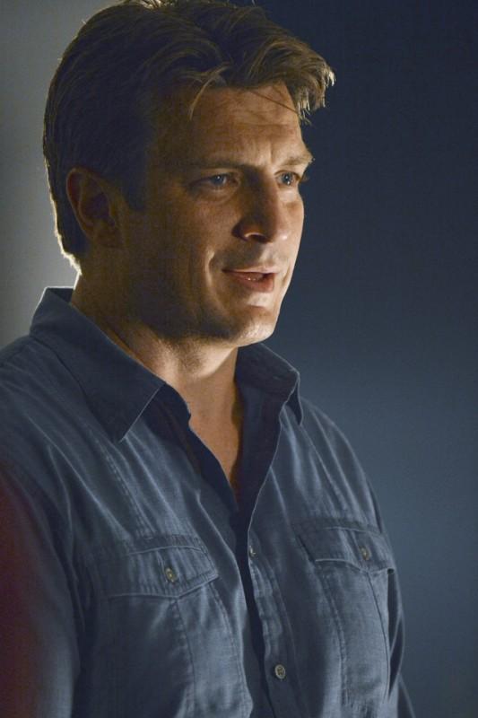 Nathan Fillion In Una Foto Promozionale Dell Episodio Murder He Wrote Della Serie Tv Castle Detectiv 257392
