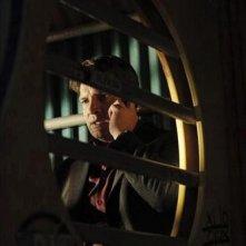 Nathan Fillion in una scena dell'episodio After Hours della serie Castle - Detective tra le righe