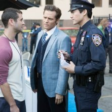 Seamus Dever in una scena dell'episodio Swan Song della serie Castle - Detective tra le righe