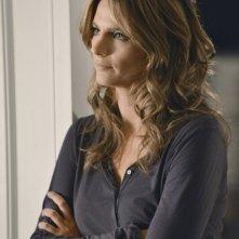 Stana Katic in una scena dell'episodio Murder, He Wrote della serie TV Castle - Detective tra le righe