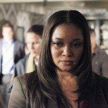 Tamala Jones in una scena dell'episodio Probable Cause della serie Castle - Detective tra le righe