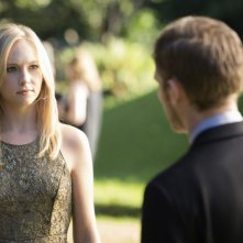 Candice Accola e Joseph Morgan in una scena dell'episodio My Brother's Keeper della serie TV The Vampire Diaries