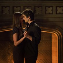 Ian Somerhalder e Nina Dobrev in una scena dell'episodio My Brother's Keeper della serie TV The Vampire Diaries