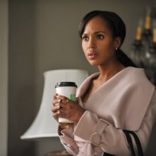 Kerry Washington in una scena dell'episodio The Other Woman della seconda stagione di Scandal