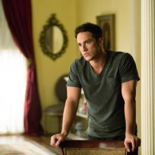 Michael Trevino in una scena dell'episodio The Killer della quarta stagione della serie TV The Vampire Diaries