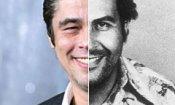 Benicio Del Toro sarà Pablo Escobar